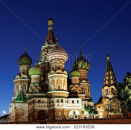 The Cathedral of St. Basil on Moscow