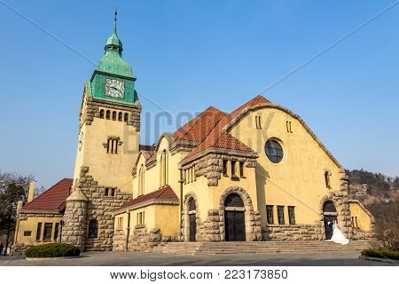 Lutheran Church built during the German colonial era, Qingdao, China