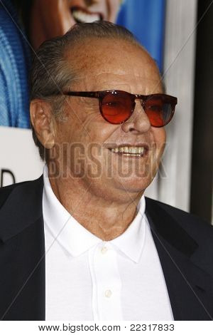 LOS ANGELES, CA - DEC 13: Jack Nicholson at the world premiere of 'How Do You Know' held at the Regency Village Theater on December 13, 2010 in Los Angeles, California