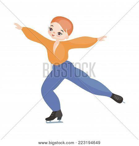 Boy Figure Skater.eps