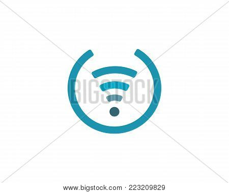 Wireless Logo Template