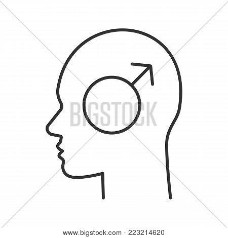 human head male vector photo free trial bigstock