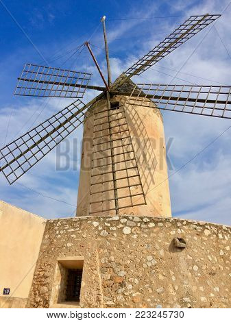 Windmill Santa Catalina Palma De Mallorca Molins de Santa Catalina Palma Majorca