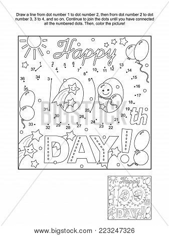FREE 100th Day Coloring Sheets! Download them today for your ... | 470x337