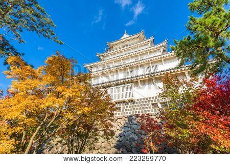 Shimabara, Nagasaki, Japan at the castle.