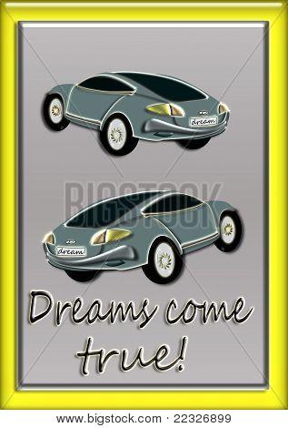 car is a dream