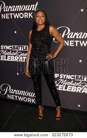 LOS ANGELES - JAN 18:  Taraji P. Henson at the Lip Sync Battle LIVE: A Michael Jackson Celebration at the Dolby Theater on January 18, 2018 in Los Angeles, CA