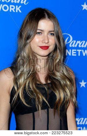 LOS ANGELES - JAN 18:  Sofia Reyes at the Paramount Network Launch Party at the Sunset Tower on January 18, 2018 in West Hollywood, CA