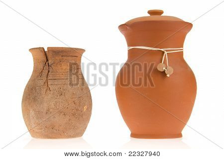 Two Ceramic Jugs