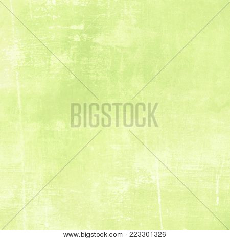 Soft green watercolor background - abstract spring texture
