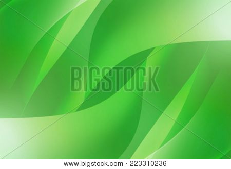 abstract background beautifulgreen waves