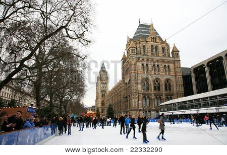 Natural History Museum's Ice Rink