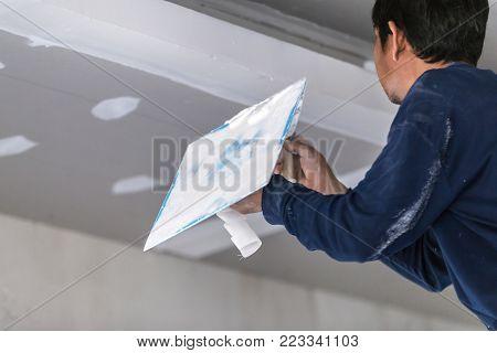 Interior Build Gypsum Board Ceiling