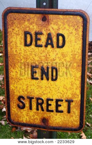 Sign - Dead End Street