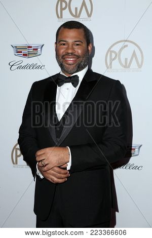LOS ANGELES - JAN 20:  Jordan Peele  at the Producers Guild Awards 2018 at the Beverly Hilton Hotel on January 20, 2018 in Beverly Hills, CA