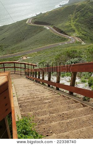 Stairs With Observation Point