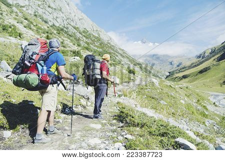 The Tour Du Mont Blanc Is A Unique Trek Of Approximately 200Km Around Mont Blanc That Can Be Complet