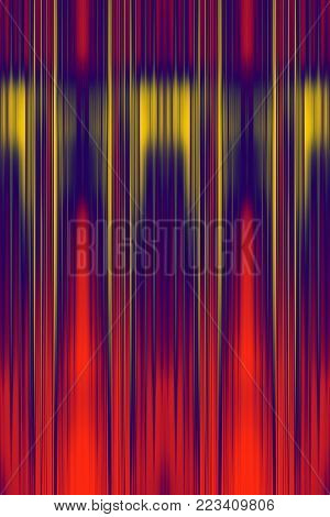 Red speed blur background with yellow highlight