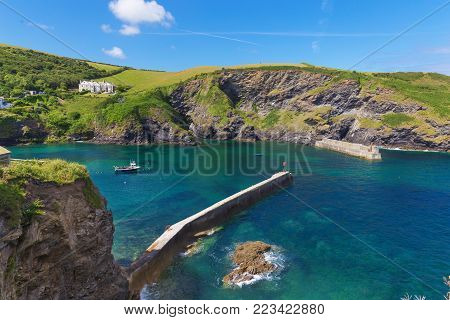 Popular St Agnes And Chapel Porth Atlantic Ocean Coast, Cornwall, England, United Kingdom