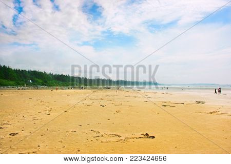 Long Beach near Tofino on Vancouver Island, British Columbia, Canada