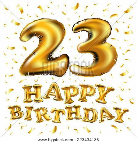 22 Years Anniversary Celebration. Poster Or Brochure Template. Vector Illustration.