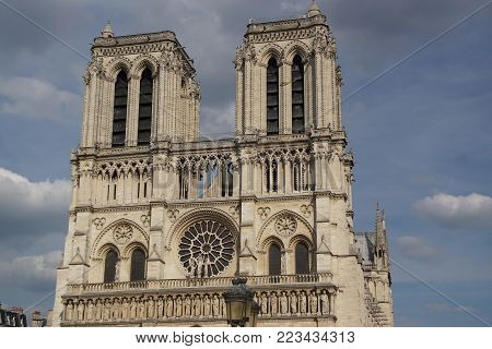 The Cathedral Notre-Dame de Paris, in shape short Notre-Dame, is the cathedral of the archdiocese of Paris, in France. She (it) is situated in the east of the island of the City (Estate), in 4 District of Paris.