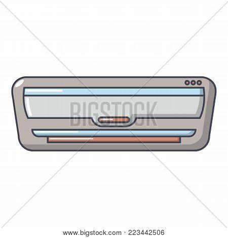 Split system icon. Cartoon illustration of split system vector icon for web.