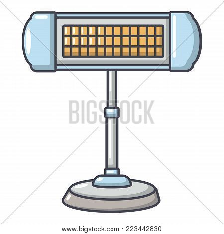 Ufo heater icon. Cartoon illustration of ufo heater vector icon for web.