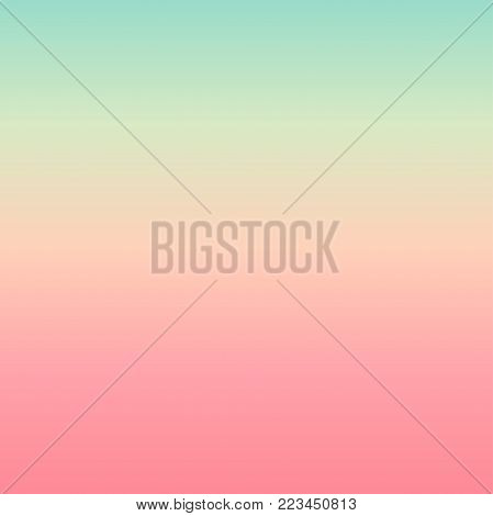 Mint pink background in pastel shades texture