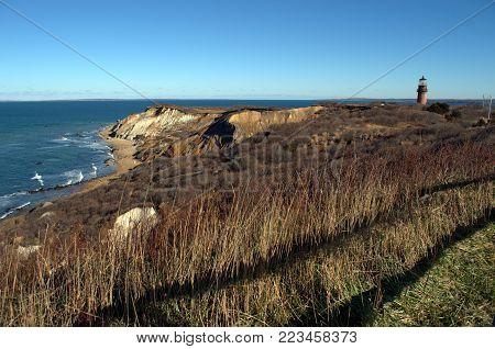 Aquinnah Cliffs Martha's Vineyard, Cape Cod Massachusetts
