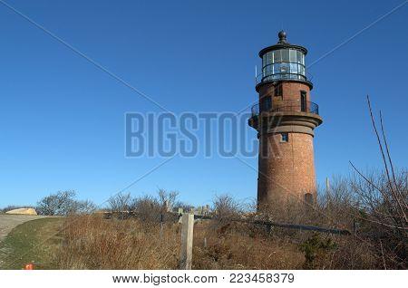 Gay Head Lighthouse, Martha's Vineyard, Cape Cod, Massachusetts