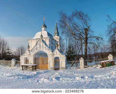 The Church Of The Holy Face Of Jesus Christ In The Village Of Marshovo, Komsomolsky District, Ivanov