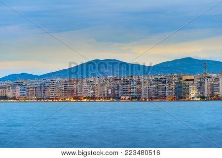 Thessaloniki Waterfront Skyline, Greece