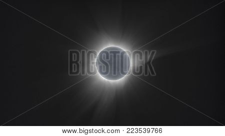 total solar eclipse occurred in Indonesia on March 9, 2016