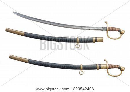Russian steel dragoon sward (sable) 19th century