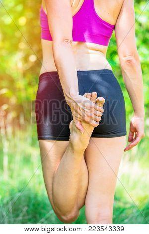 The Forward Fold Yoga Posture