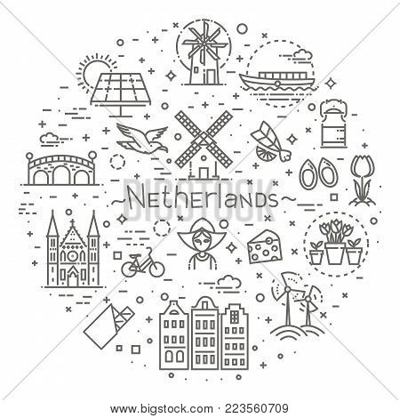 Dutch Culture Icons, Culture Signs of Holland, Traditions of Netherlands, Dutch Life, National Objects of Holland