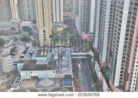 A Residential District In Hang Hau Hk