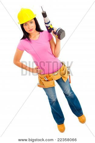 Construction Girl