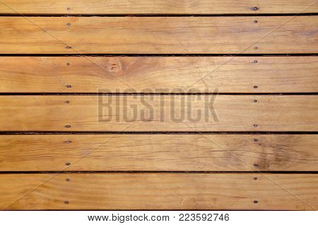 Wooden lath background and texture. Stock Photo