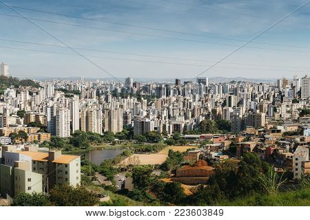 Belo Horizonte meaning Beautiful Horizon is the sixth largest city in Brazil and capital of the South-eastern state of Minas Gerais, Brazil