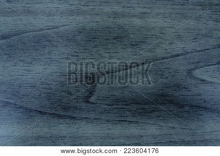 Blue Wooden texture, empty wood background, cracked surface.