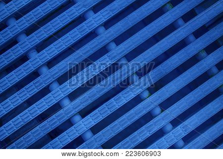 Blue Abstract mesh background White color Modern plastic Dashed lines