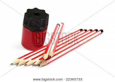 Pencil Sharper With Pencils