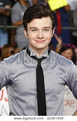 LOS ANGELES - AUG 6: Chris Colfer at the premiere of Twentieth Century Fox's 'Glee The 3D Concert Movie' held at the Regency Village Theater on August 6, 2011 in Los Angeles, California