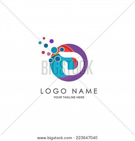 sophisticated luxury logos,  initials D icon design,  abstract logo, initials symbol design
