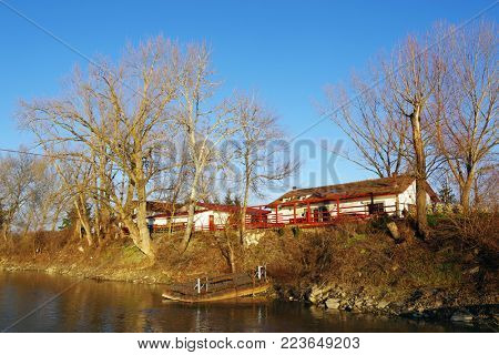 Park of Arad, Mures Valley, Romania