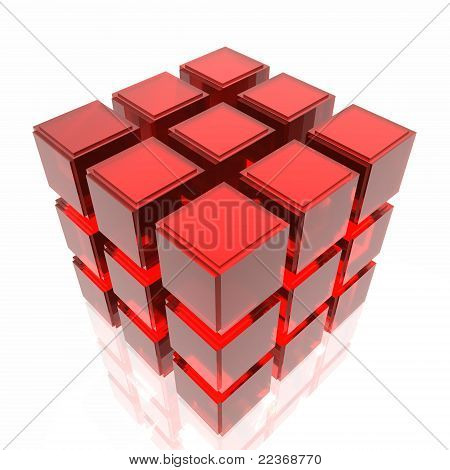 Cube structure Data mining concept