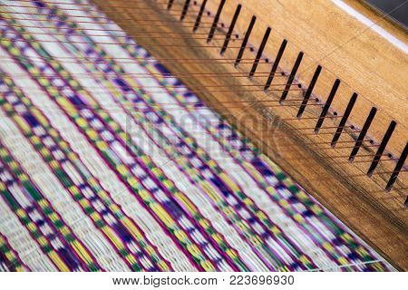 Handmade Rattan Mat In Agriculture Life