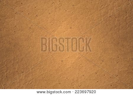 texture of an old brown leather, close-up